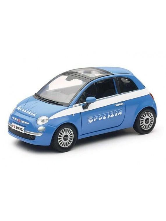 V-AUTO 1/24 POLIZIA FIAT 500