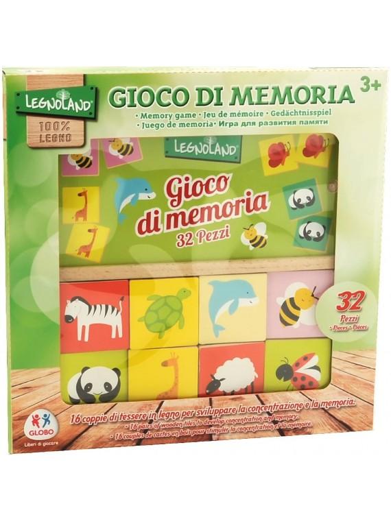 LEGNO-MEMORY GAME GIOCO DI...